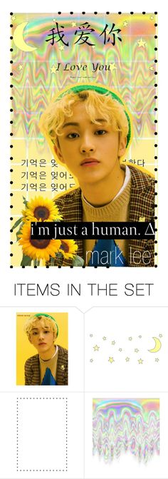 ♥ NCT Wallpapers #MARK ♥ by hongbinie on Polyvore featuring arte and mark