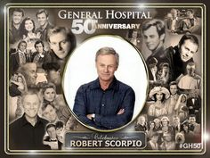 Celebrate Robert Scorpio of General Hospital Soap Opera Stars, Soap Stars, Luke And Laura, Guinness Book, Vintage Barbie Clothes, Tv Soap, Drama Series, Tv Series, Old Tv Shows