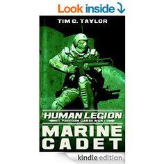 Amazon.com: Marine Cadet (The Human Legion Book 1) eBook: Tim C. Taylor: Kindle Store