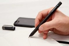 Simple to use and a pleasure to write with, the Pen+ Ellipse smart pen by Moleskine combines the natural immediacy of expressing yourself on the pages Clever Gadgets, Top Gadgets, Office Gadgets, Baby Gadgets, High Tech Gadgets, Gadgets And Gizmos, Technology Gadgets, Wine Gadgets, Cheap Gadgets