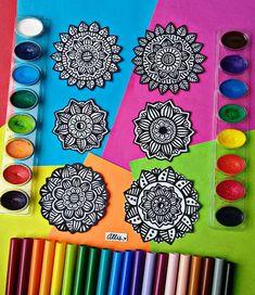 Dibujos Zentangle Art, Mini, Mandalas