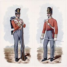 100th Regiment of Foot (Prince Regent's County of Dublin Regiment) - Wikipedia, the free encyclopedia