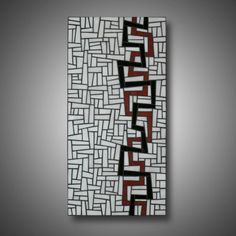 Runaways: Stained Glass Mosaic Panel - Abstract Art - Modern Home