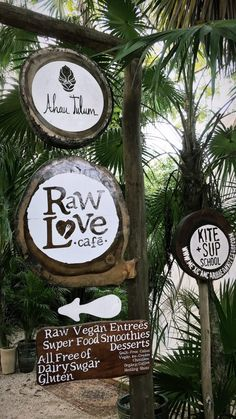 Raw Love Cafe, Tulum
