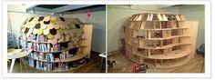 bookshelf clubhouse!