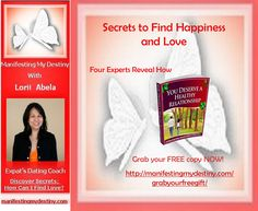 Here is another free e-book for you. Grab it at http://manifestingmydestiny.com/grabyourfreegift/