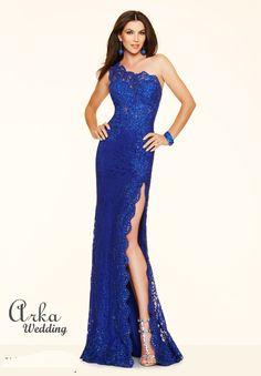 Βραδινά Φορέματα : Βραδινό Φόρεμα Κεντημένη stretch δαντέλα.Κωδ. 97112 rb