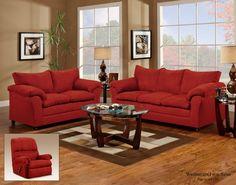 Washington 2pc: Sofa and Loveseat