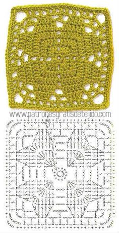 Transcendent Crochet a Solid Granny Square Ideas. Inconceivable Crochet a Solid Granny Square Ideas. Crochet Motifs, Crochet Blocks, Granny Square Crochet Pattern, Crochet Diagram, Crochet Chart, Crochet Squares, Crochet Granny, Crochet Stitches, Knit Crochet