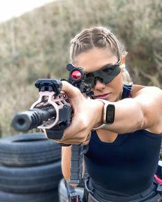Airsoft Guns, Shotguns, Firearms, Motorbike Girl, Cute Pokemon Wallpaper, Military Girl, Female Soldier, Warrior Girl, N Girls