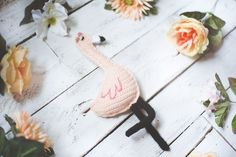 Free Crochet Pattern for Fiona the Flamingo — Megmade with Love