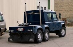 LandRover Defender. Move over Mack Photos of developments: the tote. - Page 522