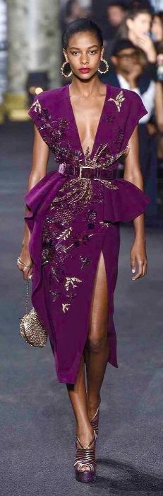 Love this color!!!Elie Saab, 2016 …