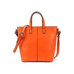 Chic Style Orange Handle Bag