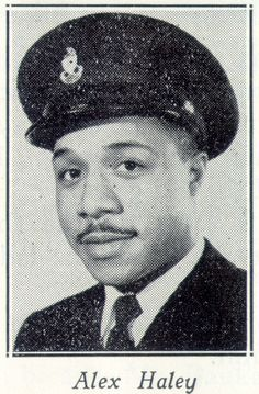 Alex Haley during his years of serving in the U.S. Coast Guard