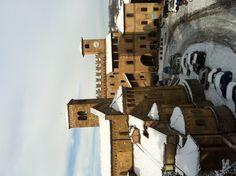 Veduta dalla Rocca, Castell'Arquato, province of piacenza , emilia Romagna region Italy
