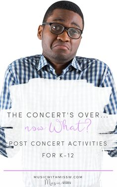 You might be in survival mode at this point and not even thinking about those few days in between the concert and break. Don't sweat it – I've got a few ideas for what you can do! College Classes, Music And Movement, Piano Teaching, Now What, Elementary Music, Music Classroom, Yoga For Kids, Music Lessons, High School Students