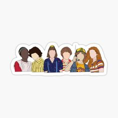 Stranger Things Fotos, Stranger Things Characters, Stranger Things Aesthetic, Stranger Things Funny, Stranger Things Season, Stranger Things Netflix, Stickers Cool, Cute Laptop Stickers, Bubble Stickers