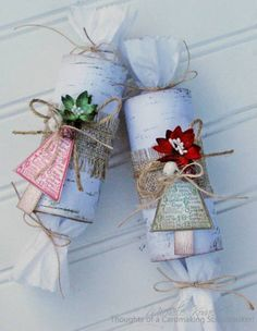 Recycle Toilet Paper Tubes by chelemom - Cards and Paper Crafts at Splitcoaststampers