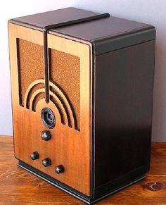 Art Deco radio