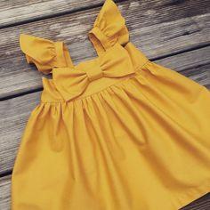 Fluffy sleeve mustard fall dress, thanksgiving toddler dress, toddler fall mustard dresses, mustard big bow dress, newborn maxi dress The listing is for one dress. Toddler Dress, Toddler Outfits, Kids Outfits, Baby Outfits, Little Girl Dresses, Girls Dresses, Bow Dresses, Peasant Dresses, Baby Girl Fashion