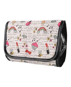 Perfume Print Cosmetic Bag | FOREVER21 - 1019571169