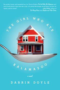 The Girl Who Ate Kalamazoo - Faceout Books - Cover Design Jason Gabbert