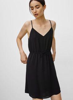 Loose thin strap dress