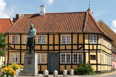 Rudkøbing, Langeland, Danmark