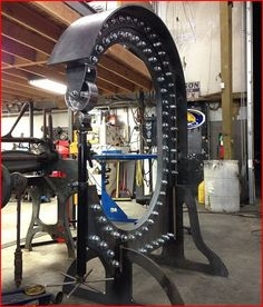 Another example of what you can do with our MetalAce English Wheel U-Weld kit.  Thanks to Stone Custom Fab for the over the top design!