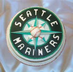 It's beautiful. Oh, and the cake looks good too. #Mariners