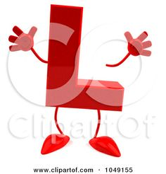 Red-Letter-L-Character