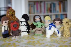 Greedy For Colour: Crochet Star Wars.... Thats Right!!!
