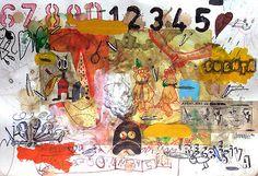 JORGE GONZALEZ LOHSE Jorge Gonzalez, Neo Pop, Surrealism, Illustration, Contemporary, Painting, Adventure, Art, Painting Art