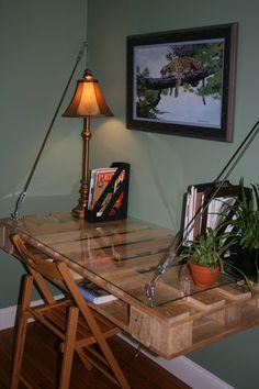 pallet computet table - Google Search