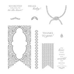 Beautiful Banners Clear-Mount Stamp Set by Stampin' Up!