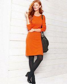 Modern Merino Sweater Dress - Garnet Hill