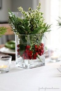 6 simple Christmas table ideas that will are quick and easy, but still beautiful and get you to the table to enjoy your meal with guests..