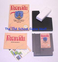 Faxanadu - Complete for The Nintendo NES - The Old School Game Vualt