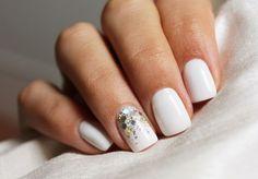 Divinas uñas de novias | Tendencias en moda