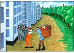 Sad reality, Deep Meaning Photos Of Modern World . Satire, Pin Ups Vintage, Pictures With Deep Meaning, Satirical Illustrations, Meaningful Pictures, Save Our Earth, Deep Art, Environmental Art, Political Cartoons