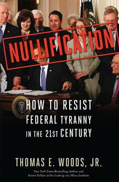Not just a book on nullification, but a book on what the United States of America really is - a confederacy.