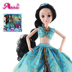 Abbie Princenss Dolls Aladdin Doll New Arrived Brave Fashion Fun And Educational Toys Play with Children As Gift Christmas DIY #Affiliate