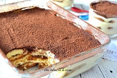 Classic tiramisu, Italian dessert ready in 20 minutes - An Italian in the kitchen Italian Desserts, Sin Gluten, No Bake Desserts, Crepes, Deserts, Baking, Ethnic Recipes, Food, Beauty Tips