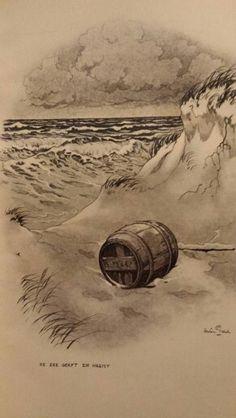 De zee geeft en neemt /Anton Pieck