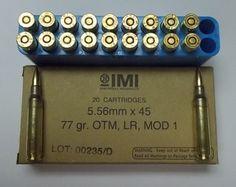 IMIRZCBOX - 20rd BOX - 5.56 77GR OTM RAZOR CORE - $16.00 / 20rd BOX