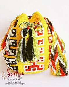 #wayuutribe #wayuubags #originalwayuu #กระเป๋าถัก #กระเป๋าพื้นเมือง…