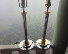 Retro Rocket table lamps.. 241. Steam punk von highdesertdreams