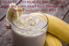 BEAUTY AND HEALTH Boil the banana, honey and water, wait 3 days: The miracle of natural medicine! (RECIPE)