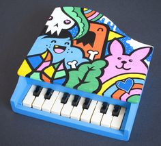 101 Colourful, Cool, Weird, Novelty, Vintage Toy Instruments [GALLERY] – Page 2 – Piano and Synth Magazine